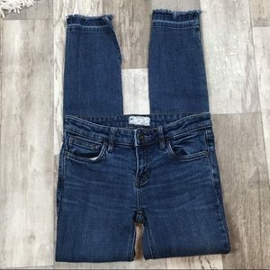 Free People Raw Released Hem Skinny Jeans IQ01